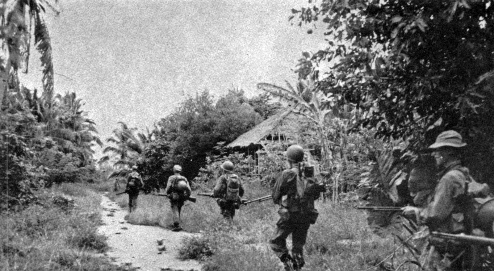 Leyte Mop Up Turns To Slaughter 1945 182nd Infantry